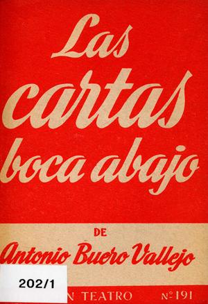 Las cartas boca abajo, de Antonio Buero Vallejo