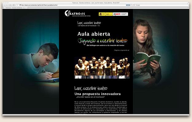 La AAT colabora en el Canal Temático del Centro de Documentación Teatral.