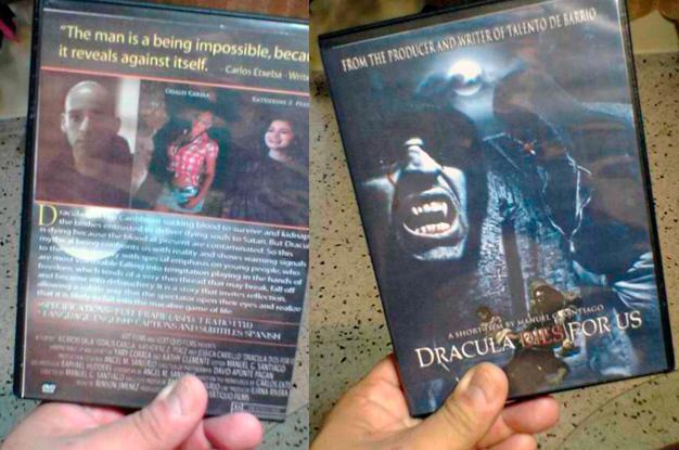 El Conde Drácula tiene SIDA de Carlos Etxeba, en DVD