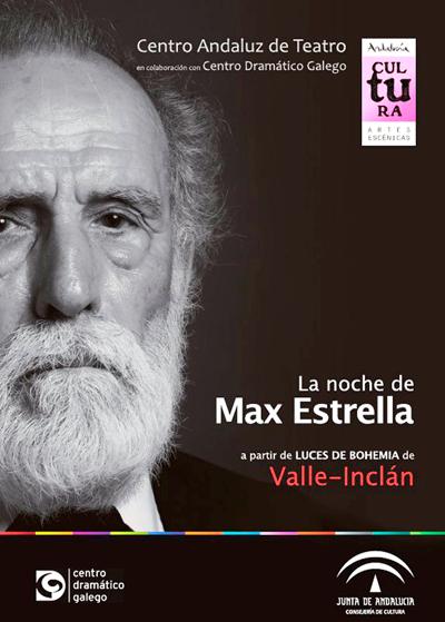 Carlos Álvarez-Novoa intepreta La noche de Max Estrella