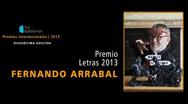 Premio internacional para Fernando Arrabal