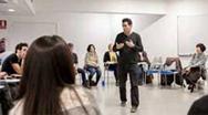 <i>Máster en creación teatral</i> de la UCIII de Madrid.