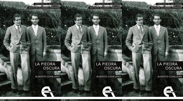 Alberto Conejero publica <i>La piedra oscura</i>