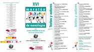 XVI Maratón de monólogos en el CBA