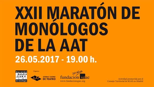 XXII Maratón de monólogos en la Sala Berlanga