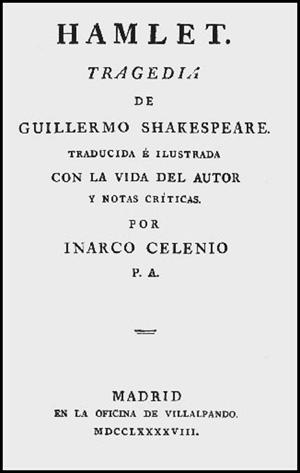 Hamlet. Tragedia de Guillermo Shakespeare