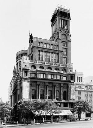 El Círculo de Bellas Artes de Madrid.