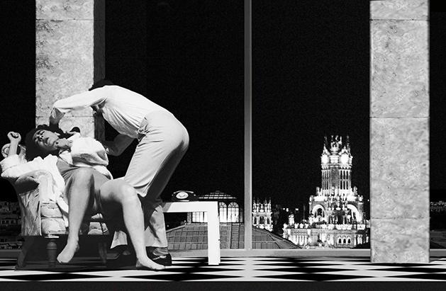 La llamada es del todo inadecuada, de Yolanda García Serrano (Teatros del Círculo, 1985).