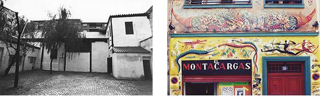 Izquierda, Sala del Mirador. Derecha, Sala El Montacargas.