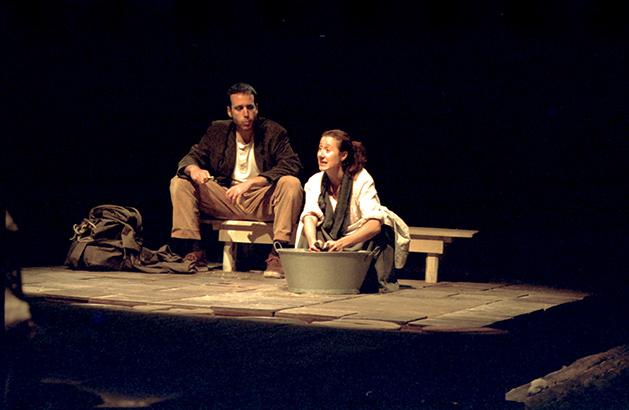 Trilogía de la Juventud (I): Las manos. (Sala Cuarta Pared, 1999).