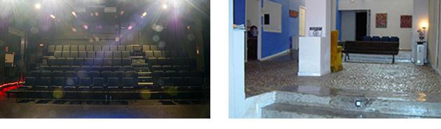 Izquierda, Sala Guindalera. (Foto: Daniel Alonso. Archivo CDT). Derecha, Sala Tis.