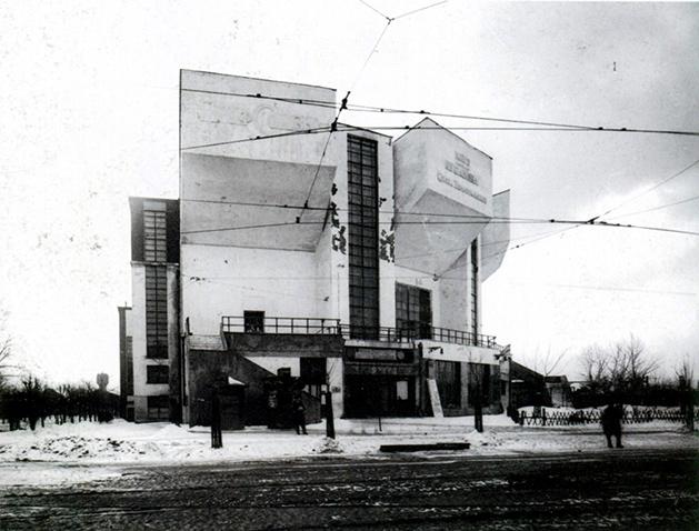 Konstantín Mélnikov, Club Rusakov, Moscú, 1927.