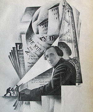 Nikolai Evreinov, por Nicolas Akimov.