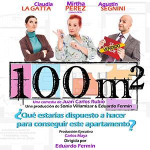 Juan Carlos Rubio. Cartel 100 m2