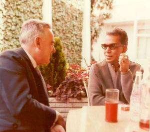 """Alfonso Paso con Mario Moreno """"Cantinflas"""""""