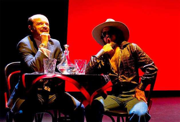 La comedia que nunca escribió Mihura, de Carlos Contreras Elvira. Dirección: Tamzin Townsend. Teatro Valle-Inclán (2012)