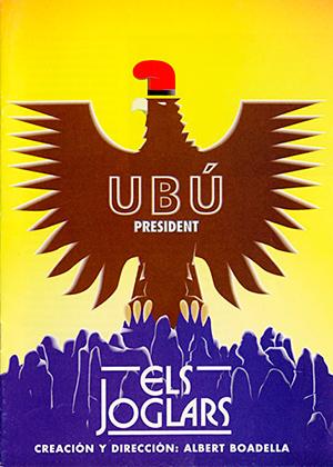Programa de mano de Ubú President. Dirección: Albert Boadella. Els Joglars (1995).