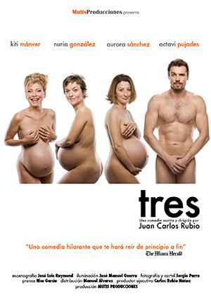 Cartel deTres, de Juan Carlos Rubio, en España (2010).