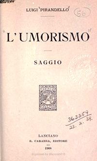 L'Umorismo(de Luigi Pirandello), 1908.