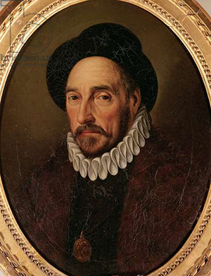 Retrato de Michel Eyquem de Montaigne (1533-92). Bridgeman Art Library.