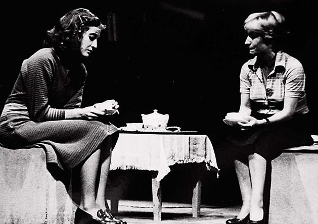 La doble historia del doctor Valmy, de Antonio Buero Vallejo. Teatro Benavente, 1976.