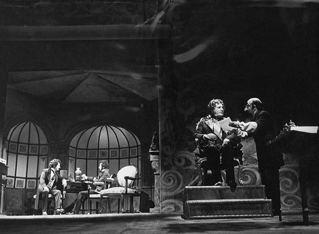 La detonación, de Antonio Buero Vallejo, por la compañía Lope de Vega. (Teatro Bellas Artes, 1977).