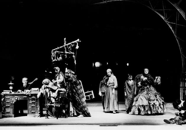 Pablo Iglesias. Teatro Maravillas, Madrid, 1984.