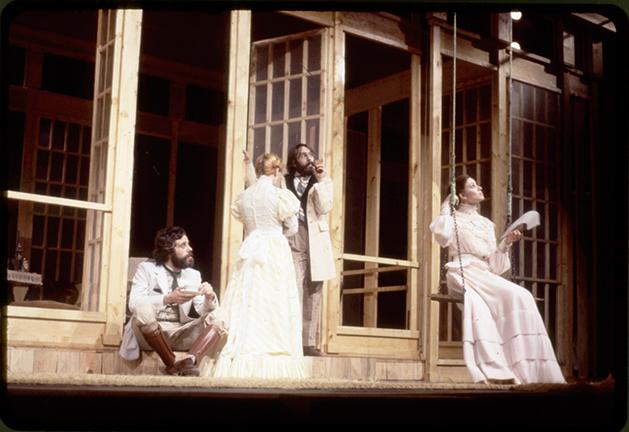 Tío Vania, de A. Chéjov, por el Teatro Estable Castellano (Madrid, 1978).