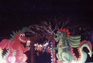 Entrada al espectáculo La fiesta de los dragones. Parque del Este, Caracas, 1983.