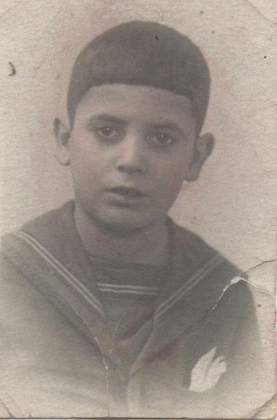 Ángel de niño en Leningrado.