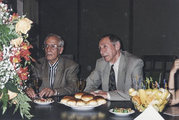 Ángel y Efros. Teatro de Arte, Moscú, 1998.