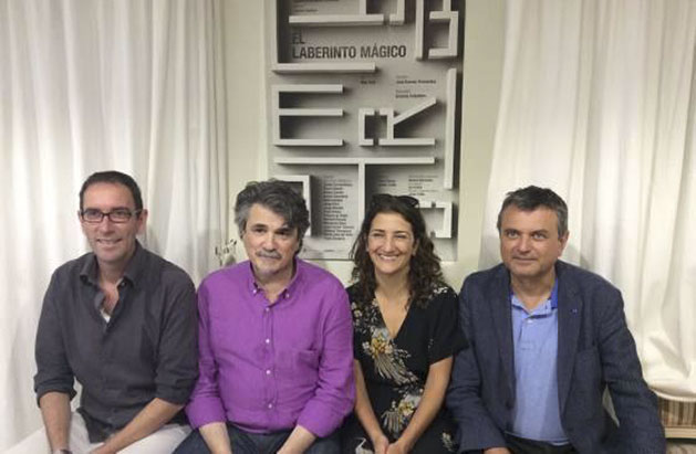 Paco Ochoa, José Ramón Fernández, Pepa Zaragoza y Ernesto Caballero, en Alicante.