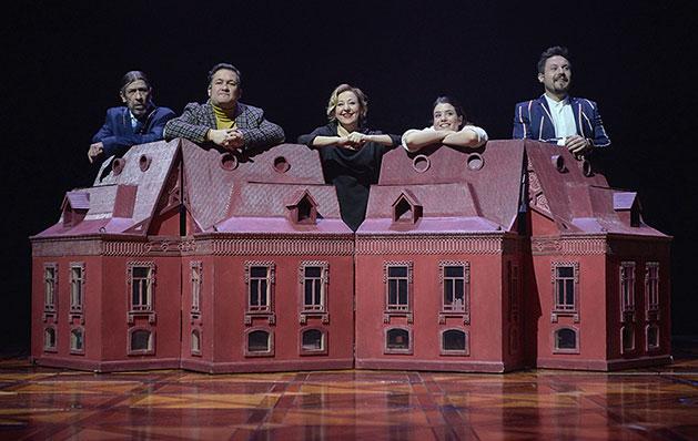 El jardín de los cerezos. Texto: Anton Chéjov. Dirección: Ernesto Caballero. Teatro Valle-Inclán. Centro dramático nacional, 2019.