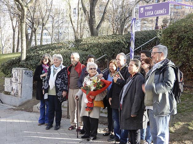Inauguración del parque Luisa Carnés 07-03-2019.