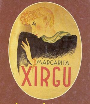 Cartel de Margarita Xirgu, hecho por Santiago Ontañón.