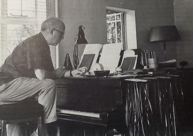 Gerhard en Cambridge, años sesenta