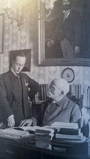 Gerhard con Pedrell