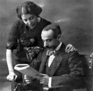 María Lejárraga y Gregorio Martínez Sierra.