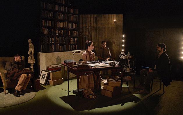 Firmado Lejárraga, de Vanessa Montfort (Texto) y Miguel Ángel Lamata (Dirección). Teatro Valle-Inclán, Centro Dramático Nacional, 2019.