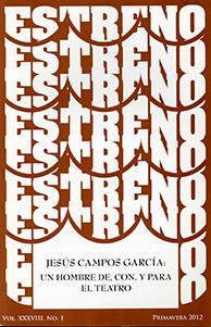 Jesús CAMPOS. Un hombre de, con y para el teatro. Revista ESTRENO.